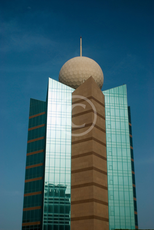 United Arab Emirates, Fujairah, Etisalat building