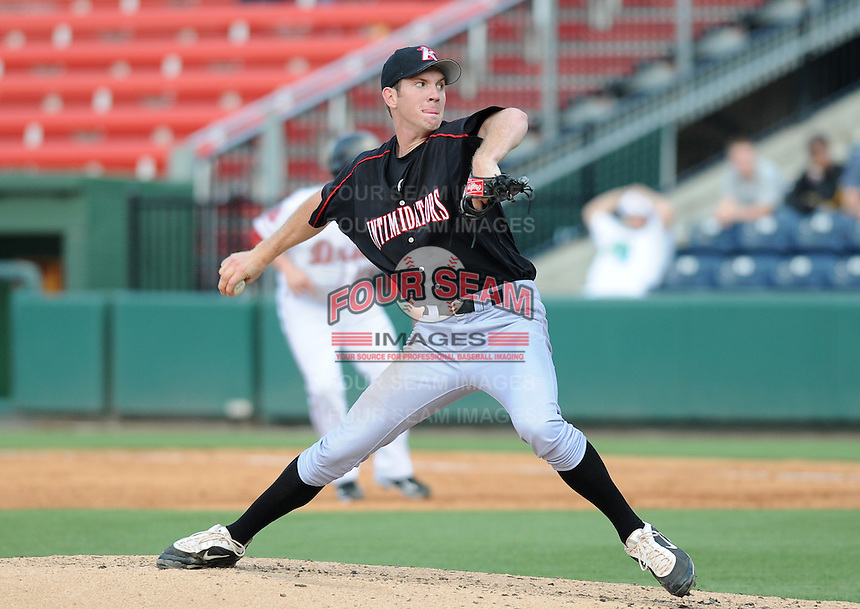 Starting pitcher Matt Heidenreich (51) of the Kannapolis Intimidators, Class A affiliate of the Chicago White Sox, in a game against the Greenville Drive on May 27, 2011, at Fluor Field at the West End in Greenville, S.C. Photo by Tom Priddy / Four Seam Images