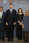 Spanish Royals King Felipe VI of Spain and Queen Letizia of Spain attend 'In Memoriam' concert in honor of March 11, 2004 terrorist attack in Atocha, in Madrid, Spain. March 12, 2015. (ALTERPHOTOS/Victor Blanco)