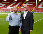 Simon Waller and Joe Bamford of HR media who have been nominated for an award for their work on SUFC Social media during the Championship League match at Bramall Lane Stadium, Sheffield. Picture date 19th August 2017. Picture credit should read: Simon Bellis/Sportimage