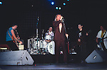 Chris Spedding performing with Robin Zander, Rick Nielson, Bun E. Carlos & Jon Brant of Cheap Trick 1986