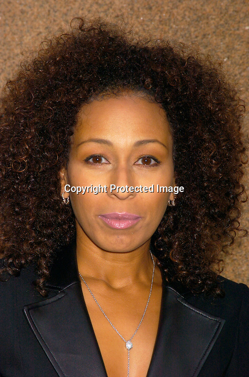 Tamara Tunie in David Rodriguez oufit ..at the David Rodriguez Spring 2004 Fashion Show on ..September 11, 2004 at Mao at the Altman Building...Photo by Robin Platzer, Twin Images