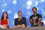 Joyce Becker's Soap Opera Festival brings actors from Young and Restless - Amelia Heinle - Bryton James - Kristoff St. John on stage on September 26, 2015 to Caesers Horseshoe Casino in Baltimore, Maryland for a Q&A with fans with a drawing for lucky fans to meet the actors for autographs and photos.  (Photo by Sue Coflin/Max Photos)