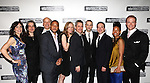 Annie Parisse, Pam MacKinnon, Frank Wood, Damon Gupton, Christina Kirk, Bruce Norris, Jordan Roth, Jeremy Shamos, Crystal A. Dickinson & Brendan Griffin.attending the Broadway Opening Night Performance After Party for 'Clybourne Park' at Gotham Hall in New York City on 4/19/2012