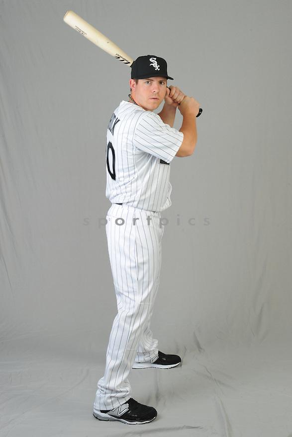 Chicago White Sox JB Shuck (20) during photo day on February 28, 2015 in Glendale, AZ.