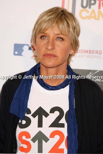 HOLLYWOOD, CA. - September 05: TV Personality Ellen DeGeneres arrives at Stand Up For Cancer at The Kodak Theatre on September 5, 2008 in Hollywood, California.