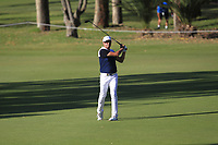 Robert Allenby (AUS) in action on the 11th during Round 2 of the ISPS Handa World Super 6 Perth at Lake Karrinyup Country Club on the Friday 9th February 2018.<br /> Picture:  Thos Caffrey / www.golffile.ie<br /> <br /> All photo usage must carry mandatory copyright credit (&copy; Golffile | Thos Caffrey)