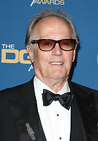 BEVERLY HILLS, CA - FEBRUARY 3: Peter Fonda at the 70th Annual DGA Awards at The Beverly Hilton Hotel in Beverly Hills, California on February 3, 2018. <br /> CAP/MPI/FS<br /> &copy;FS/MPI/Capital Pictures