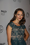 - The Paley Center for Media presents Paleyfest Made in NY - Person of Interest - starring Amy Acker - on October 3, 2013 at the Paley Center, New York City, New York. (Photo by Sue Coflin/Max Photos)