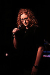Judy Gold performing on stage at 'Tis The Season Jamie deRoy & Friends Holiday Show' at the Birdland on December 11, 2017 in New York City.
