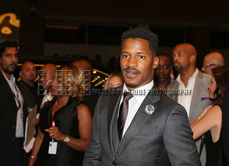 Nate Parker attends the 'The Birth of a Nation' Red Carpet Premiere during the 2016 Toronto International Film Festival premiere at Princess of Wales Theatre on September 9, 2016 in Toronto, Canada.