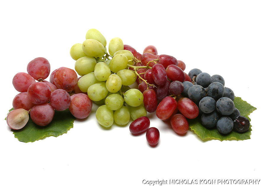 Grapes still life.