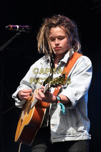 BIRMINGHAM, UNITED KINGDOM - AUGUST 31: Luke Friend performs during day 2 of Fusion Festival 2014 on August 31, 2014 in Birmingham, England.<br /> CAP/ROS<br /> &copy;Steve Ross/Capital Pictures