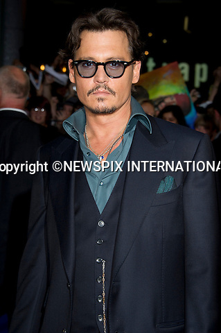 "JOHNNY DEPP.Pirates Of The Caribean, On Stranger Tides Premiere at The Vue Cinema, Wetsfield London_12/05/2011.Mandatory Photo Credit: ©Dias/Newspix International..**ALL FEES PAYABLE TO: ""NEWSPIX INTERNATIONAL""**..PHOTO CREDIT MANDATORY!!: NEWSPIX INTERNATIONAL(Failure to credit will incur a surcharge of 100% of reproduction fees)..IMMEDIATE CONFIRMATION OF USAGE REQUIRED:.Newspix International, 31 Chinnery Hill, Bishop's Stortford, ENGLAND CM23 3PS.Tel:+441279 324672  ; Fax: +441279656877.Mobile:  0777568 1153.e-mail: info@newspixinternational.co.uk"