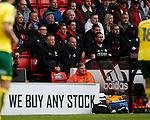 Chris Wilder manager of Sheffield Utd sits in the stands during the Championship match at Bramall Lane Stadium, Sheffield. Picture date 16th September 2017. Picture credit should read: Simon Bellis/Sportimage