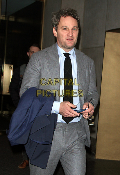 NEW YORK, NY - APRIL 5:  Jason Clarke seen at NBC's Today Show on promotion for his new film Chappaquiddick on April 05, 2018 in New York City. <br /> CAP/MPI/RW<br /> &copy;RW/MPI/Capital Pictures