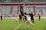 Chris Felix UDUOKHAI  (FC Augsburg),<br />Aktion,Zweikampf gegen <br />Rouwen HENNINGS (Fortuna Duesseldorf).<br />Strafraumszene,<br /><br />Fussball 1. Bundesliga, 33.Spieltag, Fortuna Duesseldorf (D) -  FC Augsburg (A), am 20.06.2020 in Duesseldorf/ Deutschland. <br /><br />Foto: AnkeWaelischmiller/Sven Simon/ Pool/ via Meuter/Nordphoto<br /><br /># Editorial use only #<br /># DFL regulations prohibit any use of photographs as image sequences and/or quasi-video #<br /># National and international news- agencies out #