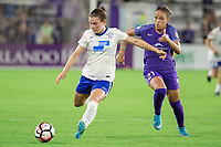 Orlando, FL - Saturday June 03, 2017: Monica during a regular season National Women's Soccer League (NWSL) match between the Orlando Pride and the Boston Breakers at Orlando City Stadium.