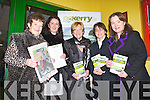 GO KERRY: Enjoying the Go Kerry Night at the Dogs at the Kingdom Greyhound Stadium on Friday l-r: Joan O'Regan, Margaret O'Regan, Eleanor Collins, Mary Rose Stafford and Caroline Boland.