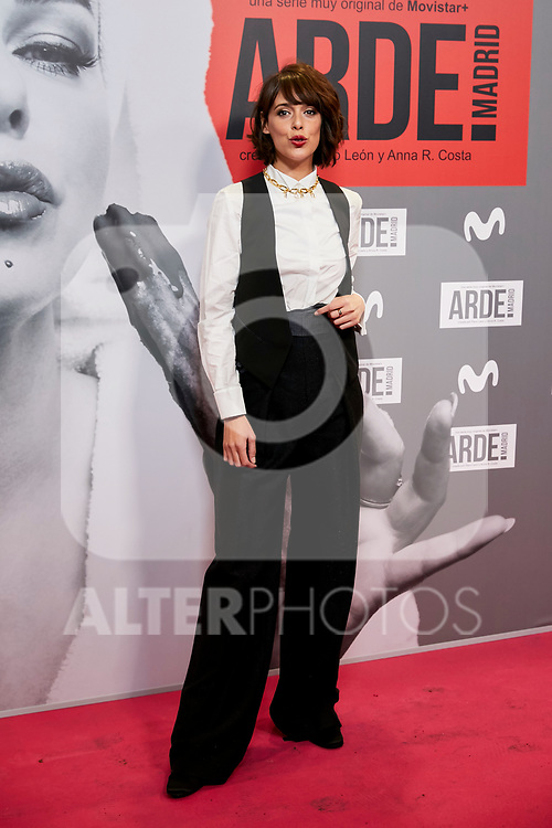 Belen Cuesta attends to ARDE Madrid premiere at Callao City Lights cinema in Madrid, Spain. November 07, 2018. (ALTERPHOTOS/A. Perez Meca)