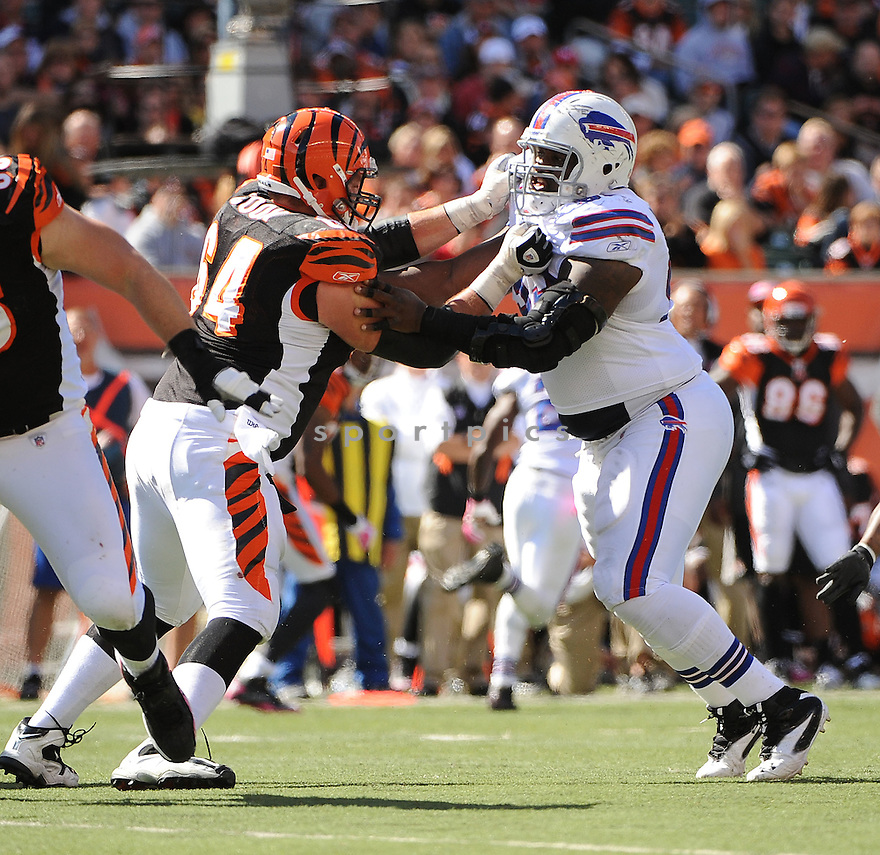 MARCELL DAREUS, of the Buffalo Bills, in action during the Bills game against the Cincinnati Bengals on October 2, 2011 at Paul Brown Stadium in Cincinnati, OH. The Bengals beat the Bills 23-20.