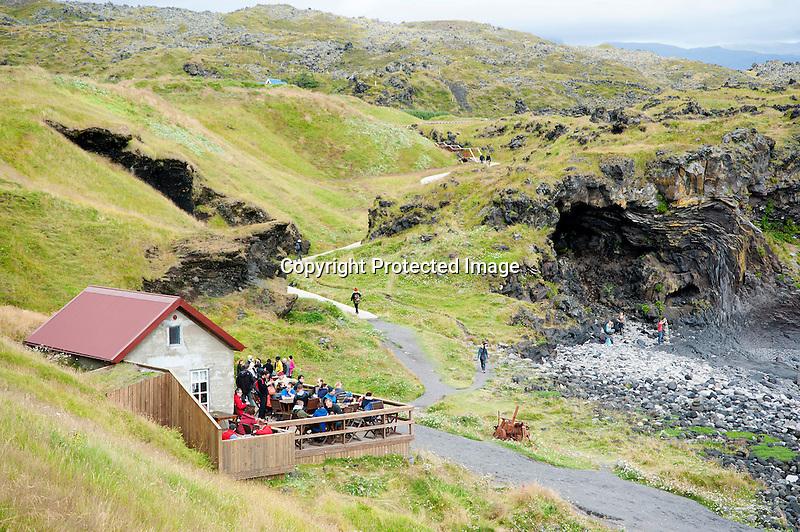 Hellnar Shore Iceland