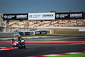 June 10th 2017,  Barcelona Circuit, Montmelo, Catalunya, Spain; MotoGP Grand Prix of Catalunya, qualifying day; Accident between Danilo Petrucci and Karel Abraham while testing the new chicane of the circuit