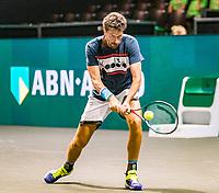 Rotterdam, The Netherlands, 9 Februari 2020, ABNAMRO World Tennis Tournament, Ahoy, Qualyfying round: Robin Haase (NED)<br /> Photo: www.tennisimages.com
