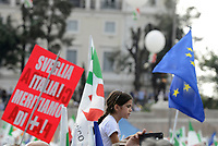Roma, 30 Settembre 2018<br /> Piazza del Popolo<br /> Manifestazione nazionale del Partito Democratico contro il Governo