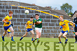 Darragh Rahilly Kerry in action against Niall Moran Roscommon during the Kerry v Roscommon All Ireland Minor Quarter Final at the Gaelic Grounds in Limerick on Saturday.