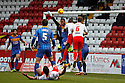 Chris Weale of Shrewsbury punches clear<br />  - Stevenage v Shrewsbury Town - Sky Bet League 1 - Lamex Stadium, Stevenage - 30th November, 2013<br />  © Kevin Coleman 2013