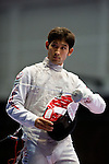 Ryo Miyake (JPN),<br /> AUGUST 9, 2013 - Fencing :<br /> World Fencing Championships Budapest 2013, Men's Individual Foil Round of 64 at Syma Hall in Budapest, Hungary. (Photo by Enrico Calderoni/AFLO SPORT) [0391]
