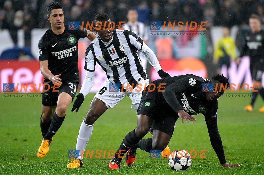 Paul Pogba Juventus.Torino 6/03/2013 Juventus Stadium.Football Calcio Champions League Season 2012/13.Juventus vs Celtic Glasgow.Foto Insidefoto Federico Tardito