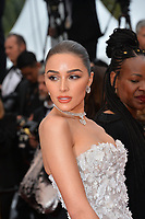 """CANNES, FRANCE. May 24, 2019: Olivia Culpo  at the gala premiere for """"Sybil"""" at the Festival de Cannes.<br /> Picture: Paul Smith / Featureflash"""