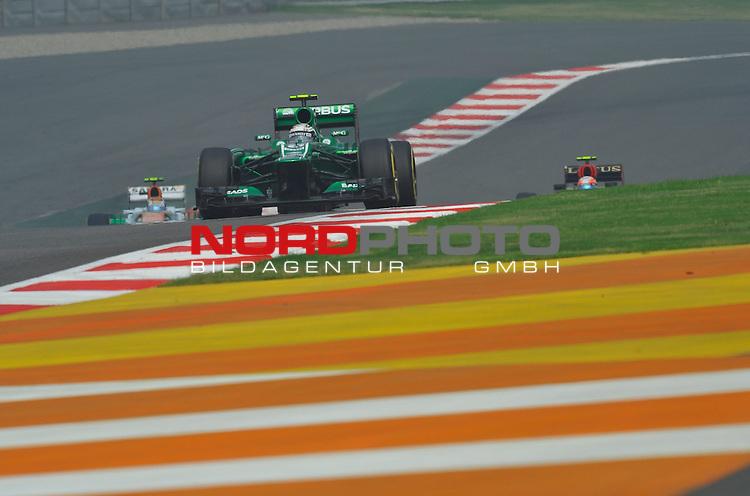 25.-27-10-2013, Jaypee-Circuit, Noida, IND, F1, Grosser Preis von Indien, Noida, im Bild Guido van der Garde (NL), Caterham F1 Racing <br />  Foto &copy; nph / Mathis