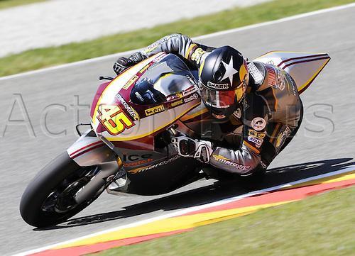06 06 2010 Scott Redding GBR Suter. Moto2 class, 600cc spec Honda eninges in prototype chassis. Gran Premio d'Italia TIM, Mugello circuit, Italy.