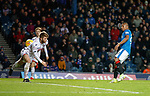 Alfredo Morelos scores the equaliser for Rangers