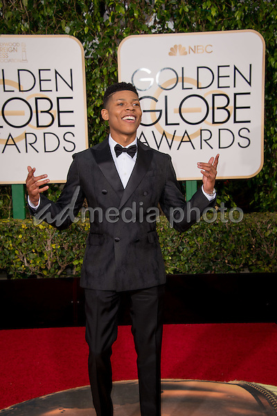 "Bryshere Y. Gray, actor from the Golden Globe nominated series  ""Empire"" (FOX), arrives at the 73rd Annual Golden Globe Awards at the Beverly Hilton in Beverly Hills, CA on Sunday, January 10, 2016. Photo Credit: HFPA/AdMedia"
