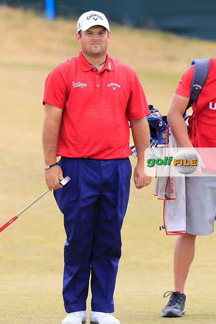 Patrick Reed (USA) at the 17th green during Thursday's Round 1 of the 2015 U.S. Open 115th National Championship held at Chambers Bay, Seattle, Washington, USA. 6/18/2015.<br /> Picture: Golffile | Eoin Clarke<br /> <br /> <br /> <br /> <br /> All photo usage must carry mandatory copyright credit (&copy; Golffile | Eoin Clarke)