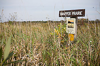 Snapper Prairie Preserve, State Natural Area Wisconsin, native plant meadow