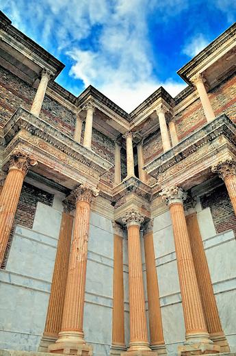 The gymnasium of Sardis, Turkey
