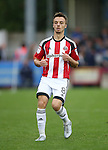 Sheffield United's Stefan Scougall in action during the League One match at the Kingsmeadow Stadium, London. Picture date: September 10th, 2016. Pic David Klein/Sportimage