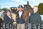 Pictured at the Kerry County Hunt clubs' hunt at Darby O'Gills, Killarney on Sunday were Dean Slattery, Craig McSweeney and Michael McSweeney, Glenflesk.