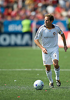 06 June 2009: Los Angeles Galaxy midfielder Eddie Lewis #6 in MLS action at BMO Field Toronto in a game between LA Galaxy and Toronto FC. .The Galaxy  won 2-1.