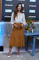 Sara Carbonero asiste a la sesión fotográfica de la campaña 'Ver para aprender por Polaroid' en Madrid, España. 04 de septiembre de 2018.<br /> <br /> Sara Carbonero attends to 'Ver para aprender by Polaroid' campaign photocall in Madrid, Spain. September 04, 2018.