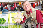 Paddy Keane, Listowel and his dog Purty supporting the Tidy Town's Waste Management Stall and their tidy campaign at the Farmer's Market in Listowel on Friday morning.   Copyright Kerry's Eye 2008