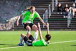 V&auml;llingby 2015-05-09 Fotboll Damallsvenskan AIK - Kristianstads DFF  : <br /> Kristianstads Susanne Moberg firar sitt 1-0 m&aring;l med Amanda Edgren under matchen mellan AIK och Kristianstads DFF  <br /> (Foto: Kenta J&ouml;nsson) Nyckelord:  Fotboll Dam Damer Damallsvenskan AIK Gnaget Kristianstad Grimsta jubel gl&auml;dje lycka glad happy