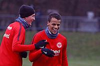 Timothy Chandler (Eintracht Frankfurt), Marius Wolf (Eintracht Frankfurt) - 05.12.2017: Eintracht Frankfurt Training, Commerzbank Arena