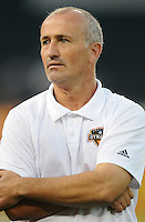 Houston Dynamo Head Coach Dominic kinnear.   The Houston Dynamo defeated DC United 3-1, at RFK Stadium, Saturday September 25, 2010.