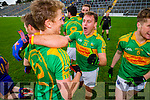 Paul O'Connor South Kerry team celebrate winning the County Senior Football Semi Final over Kenmare at Fitzgerald Stadium Killarney on Sunday.